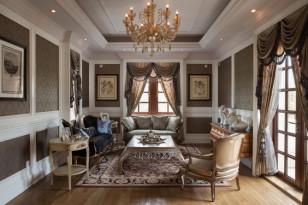 触之可及的是凡尔赛的荣光——中星红庐欧式别墅