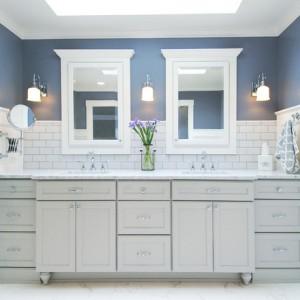 传统的主浴室