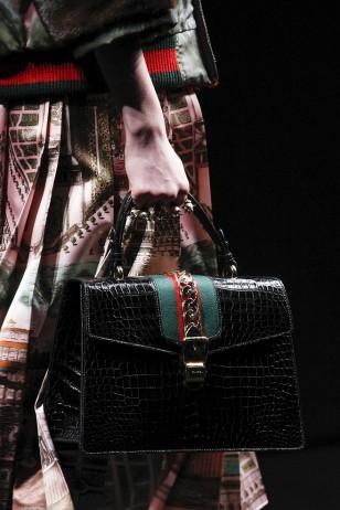 2016秋冬米兰时装周:古驰 (Gucci) 女装秀