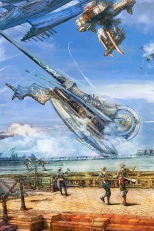 Final Fantasy XII - 《最终幻想12》游戏插画