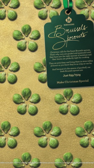 Morrisons - Morrisons 圣诞节包装纸广告
