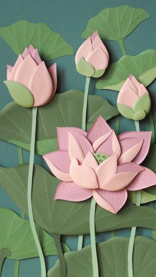 Wirin Chaowana - Wirin Chaowana 花卉纸雕作品