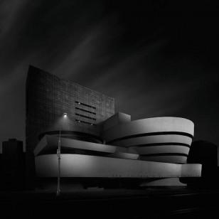 Dennis Ramos的静谧黑白建筑摄影艺术作品