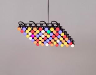 Ultra Studio设计的创意灯具Houseparty Lamp