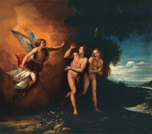亚当和夏娃被驱逐出伊甸园
