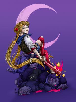 #CDChallenge - June (Sailor Moon)
