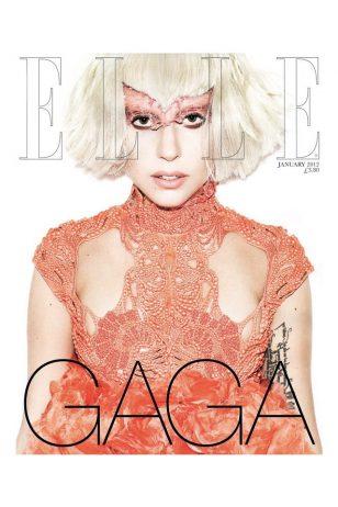 ELLE Cover - 《ELLE》英国版2012年1月号封面