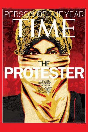 《TIME》2011年12月26日刊封面