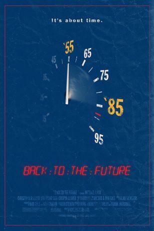 Back to the Future - 《回到未来》电影海报