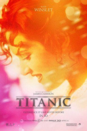 Titanic - 《泰坦尼克号》电影海报