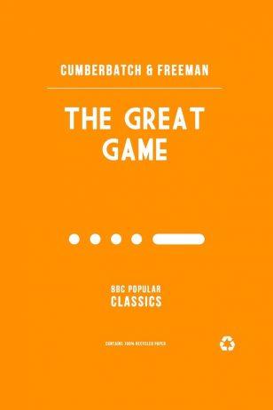 The Great Game - BBC《神探夏洛克》剧集海报之《致命游戏》