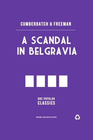 A Scandal in Belgravia - BBC《神探夏洛克》剧集海报之《贝尔戈维亚丑闻》
