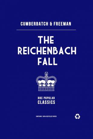 The Reichenbach Fall - BBC《神探夏洛克》剧集海报之《莱辛巴赫瀑布》