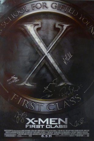 X-Men: First Class - 《X战警:第一战》电影海报