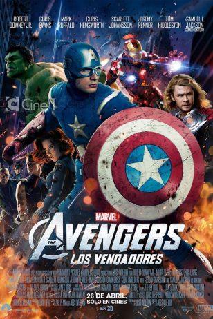 The Avengers - 《复仇者联盟》电影海报