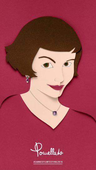 Amelie - 意大利珠宝品牌 Pomellato 戛纳电影节系列珠宝广告