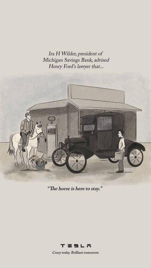 特斯拉汽车广告