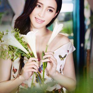 甘婷婷花仙子写真气质优雅迷人
