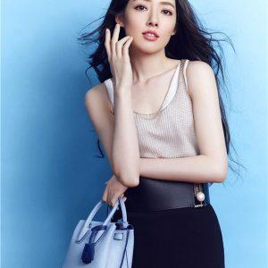 台湾美女明星郭碧婷时尚写真