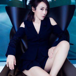 明星美女闫妮性感长腿诱惑写真