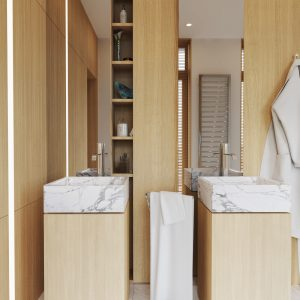 bathroom simple
