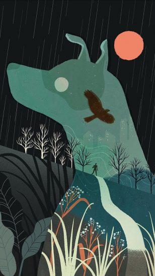Heart of a Dog - 菲律宾插画师 Geraldine Sy 作品