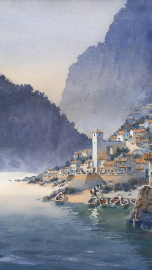 Rome - 美国画家 Michael Reardon 水彩作品