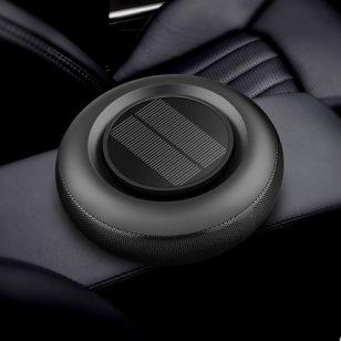 花上车载空气净化器太阳能汽车内负离子氧吧香薰除甲醛异烟味雾霾