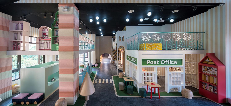 上海奈尔宝neo bio儿童游乐园中心设计