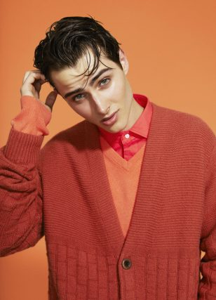Shane Gibson Dons a Color Story for FashionTrend