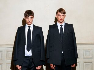 Adrien Sahores & Guerrino Santulliana are a Cheeky Pair for MVIO Fall/Winter 2012 Campaign