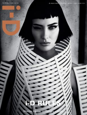 i-D 318 – The Royalty Issue models.com cover previews posted by stephan