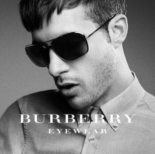 【BURBERRY】推出新款太阳镜广告大片 英国乐队奉献独家单曲 【THREE】