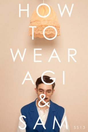 Daniel Turner in 'How to Wear' Agi & Sam Spring/Summer 2013