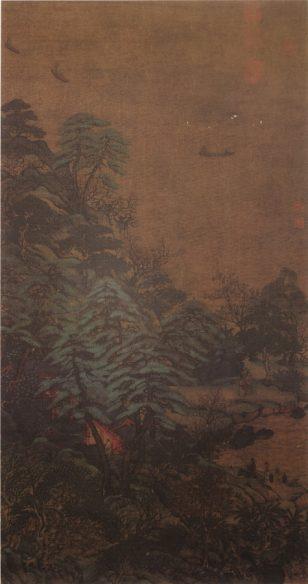 江帆楼阁图