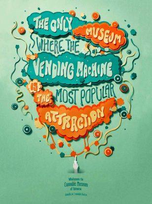 澳大利亚博物馆字体海报欣赏