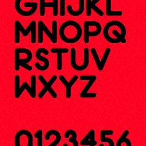 Chrome Light英文字体设计欣赏