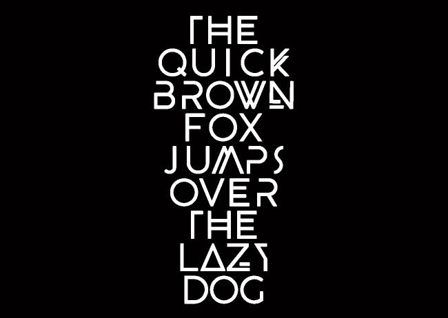 创意英文字体设计图片