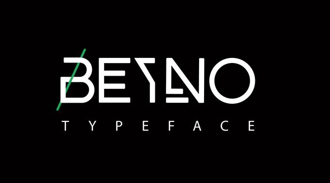 创意英文字体设计