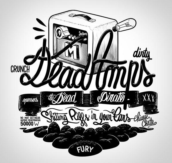 创意手绘字体设计欣赏