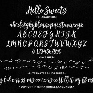 美观的手写风格字体及其运用