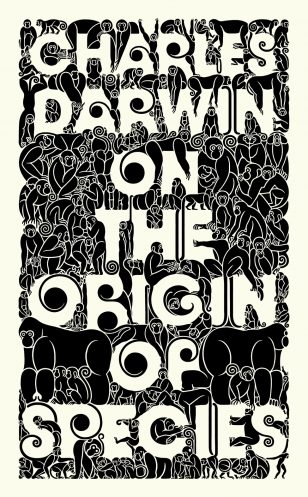 Charles Darwin - On The Origin of Species Book Cover