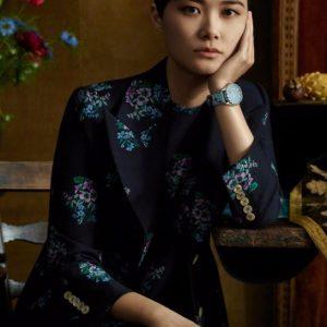 古驰Gucci品牌大使拍摄2018全新腕表首饰广告形象大片