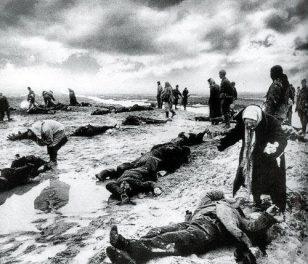 德军撤离苏联卡契城