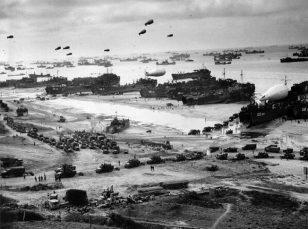 1944 年 6 月 6 日,诺曼底登陆。