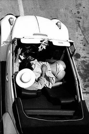 """1959年纽约,一次疑似的""""车震""""。"""