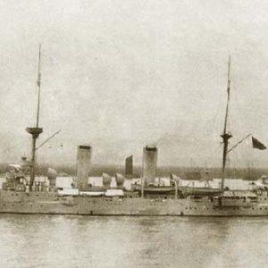"""老照片之晚清的世界先进海军——""""三海""""巡洋舰"""
