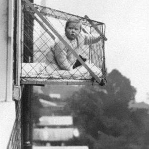 悬挂式育婴笼