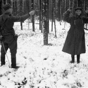 1939年,在冬季战争中一位苏军间谍被执行枪决……