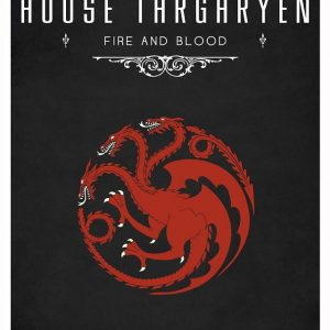 Game Of Thrones - Tom Gateley设计的《权力的游戏》系列海报